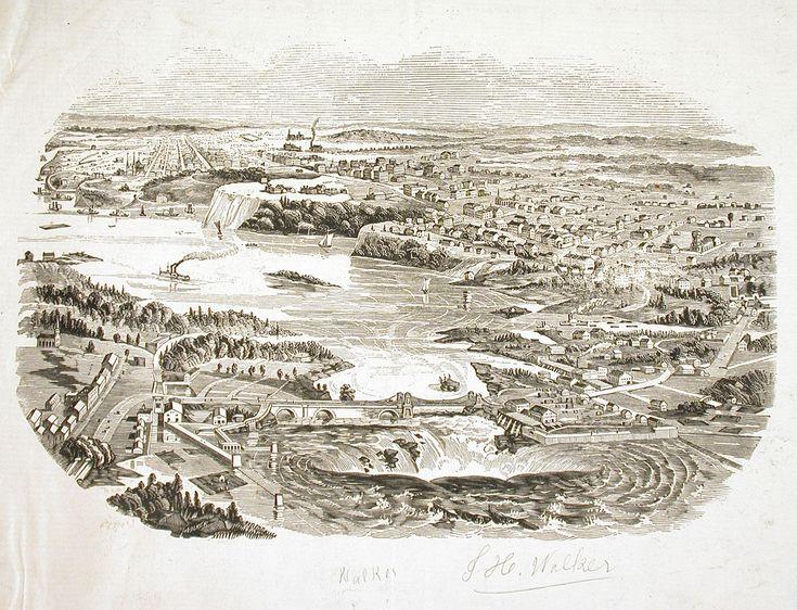 Bytown Ottawa Hull 1840