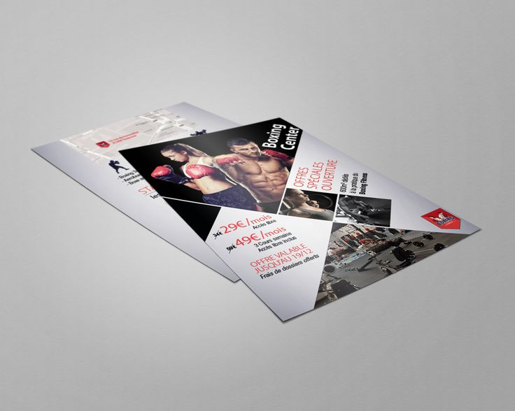 Flyer pour Boxing Center - Offre promotionnelle - #Flyer #Print #Creation