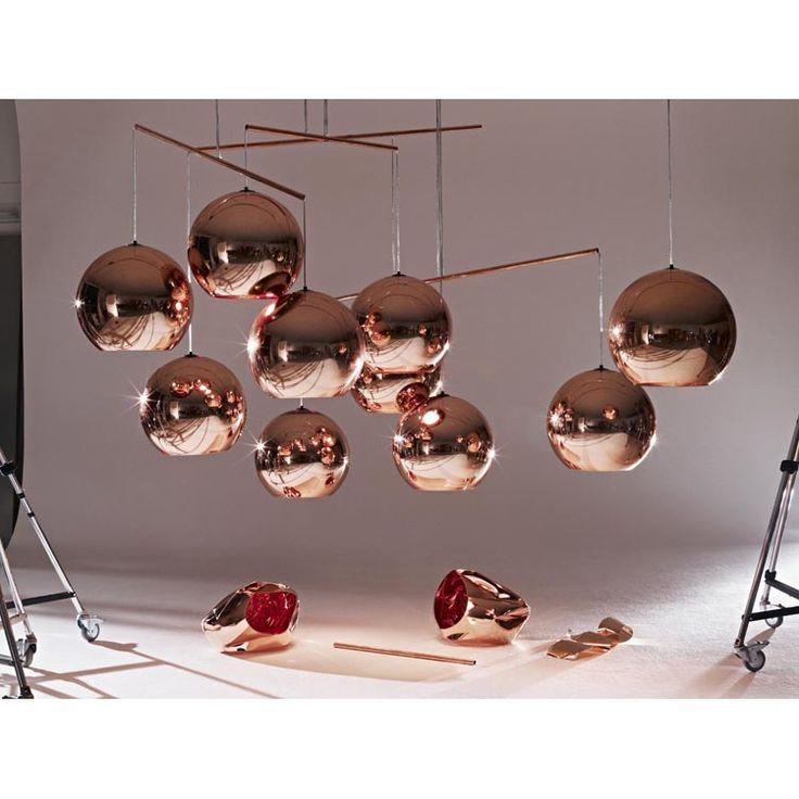 Copper Shade Pendel Tom Dixon - Kjøp møbler online på ROOM21.no