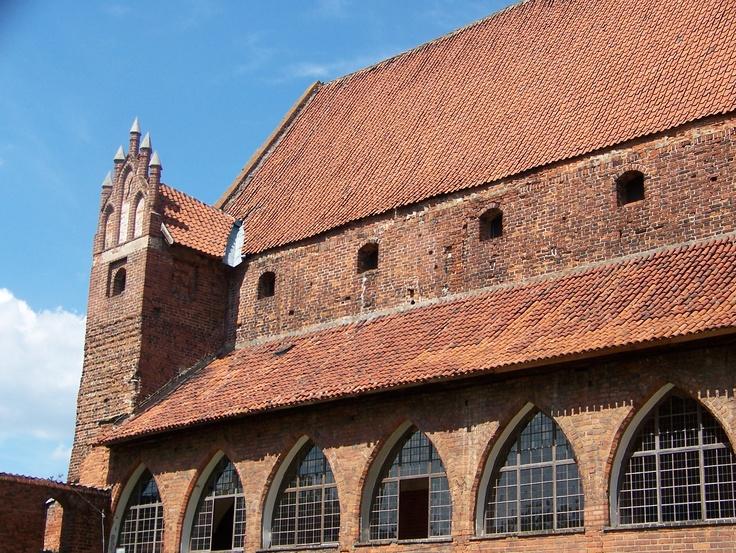 Copernicus' Castle in Olsztyn, Poland - July, 2010