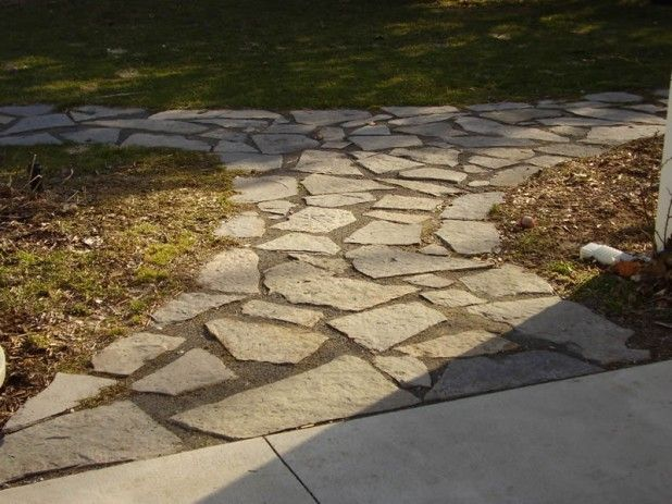 17 best images about yard on pinterest stone walkways for Landscaping rocks midland tx