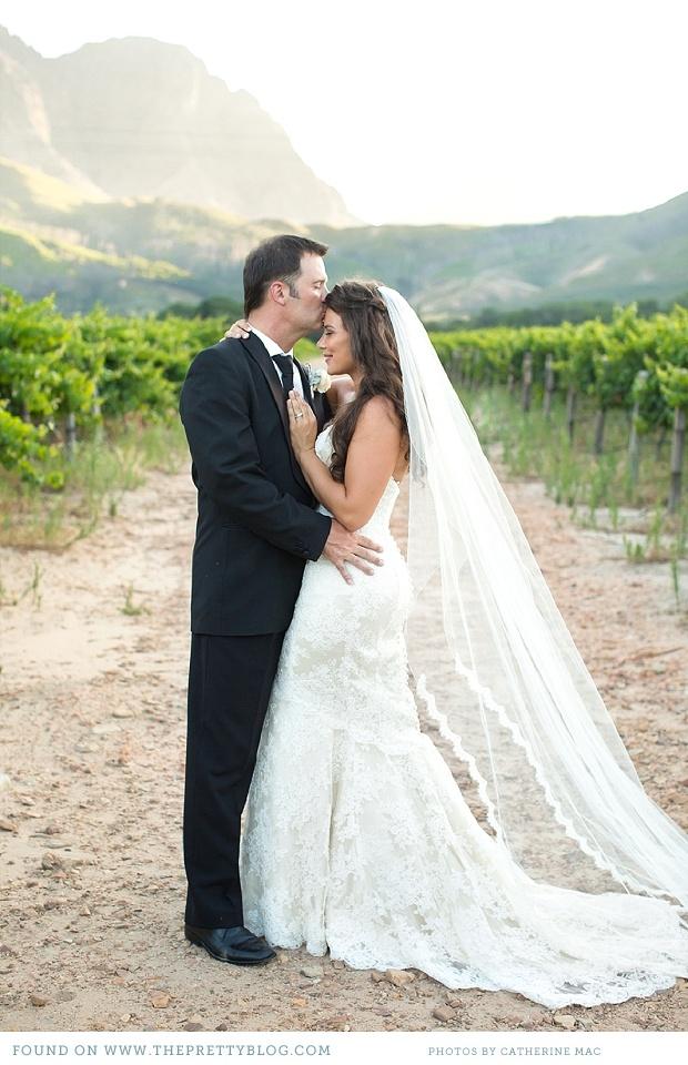 romantic soft pink wedding franschhoek 033 Michael & Philippas Romantic Winelands Wedding