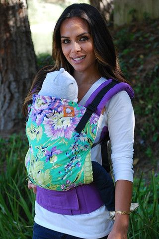 Canvas - Tula Release 'Plum Posy' TULA BABY CARRIER