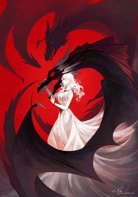 Daenerys Targaryen by Stephanie Kao