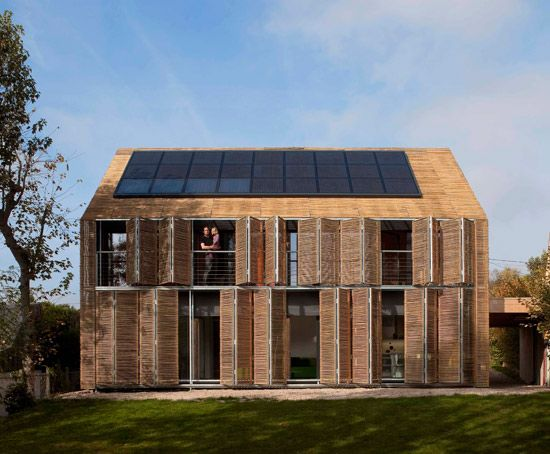 Passive Haus / Passive House / Casa Passiva: Designed by Karawitz Architecture (France); located in Bessancourt, France.