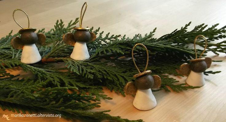 Decorazione Angeli per Albero di Natale http://www.marikazanetti.altervista.org/