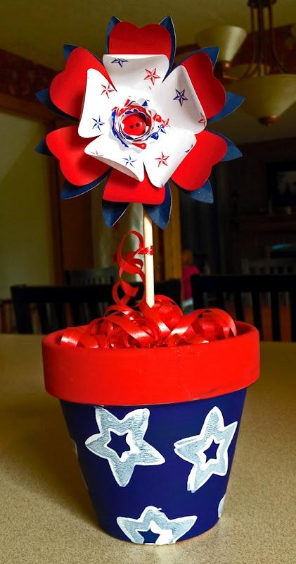 memorial day flower pots