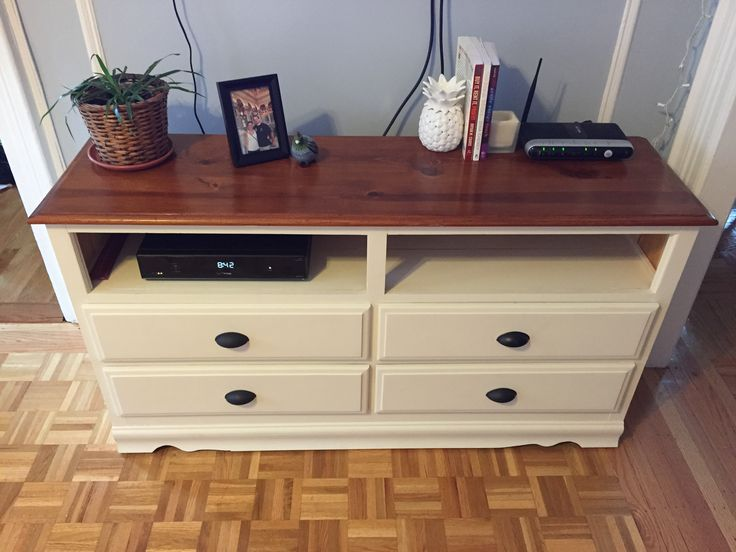 turning a dresser into a tv stand can bring new purpose and life to an old