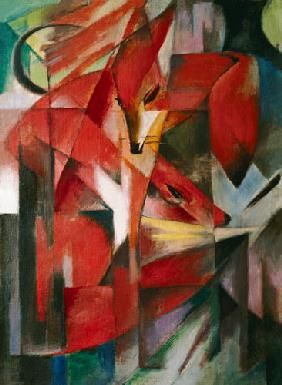 Franz Marc (1880-1916), The Fox, 1913
