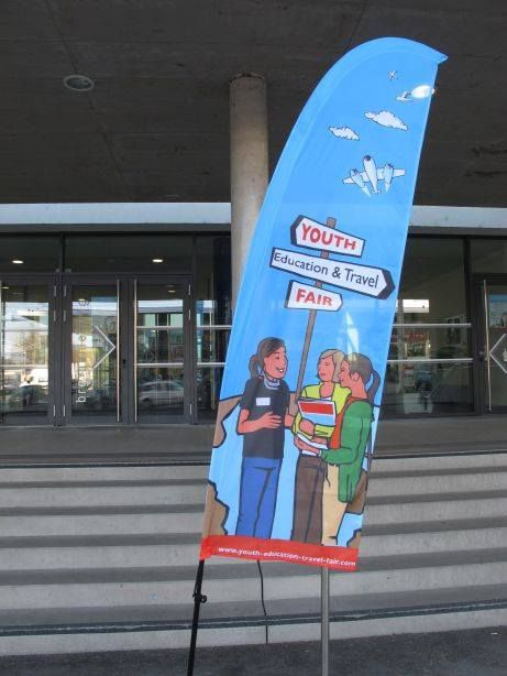 Youth Eductaion & Travel Fair in #Linz am 16. April 2016