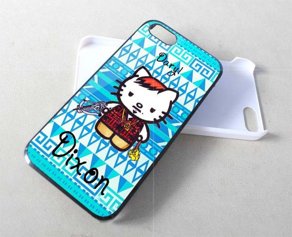 Daryl Dixon Cat iPhone Case And Samsung Galaxy Case Available for iPhone Case iPad Case iPod Case Samsung Galaxy Case Galaxy Note Case HTC Case Blackberry Case,were ready for rubber and hard plastic material, Ready for the new one iPhone 6