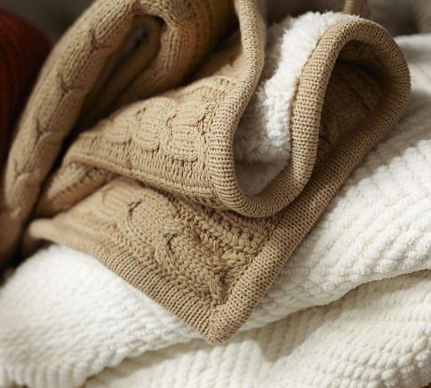 cozy cableknit throw pottery barn the softest thing i have ever owned - Cable Knit Throw