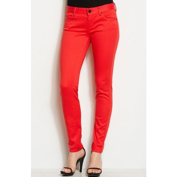 Armani Exchange J22 - Bold Color Legging ($69) ❤ liked on Polyvore
