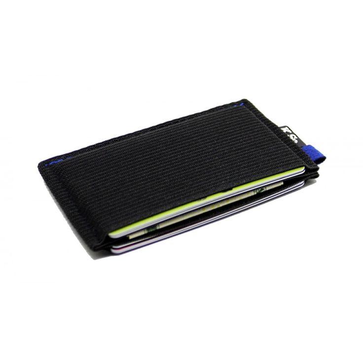 Ultra Slim Minimalist Front Pocket Wallet & Card Holder 'Ultraz Blue'