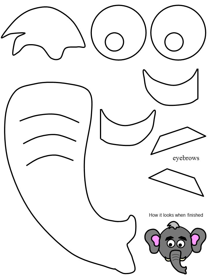 elephant template for preschool 12 best images about elephant costume on pinterest