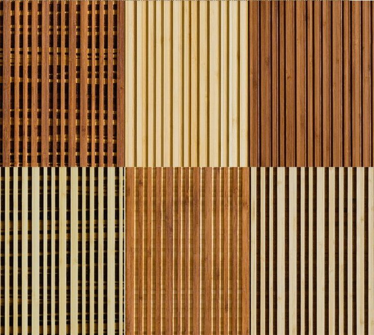 "The Linear Line Bamboo Wall Panels Collection is made entirely of carved Plyboo bamboo. They're dense and durable, and are 4'x8' X 3/4"" thick. This line suggests the natural, tactile quality of a woven textile that is both curious and compelling. The Linear Line collection is suitable for any interior feature, and is available in 6 architecturally inspired styles."