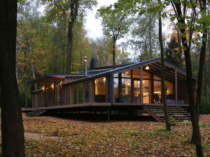 Una casa prefabricada que se construye en 10 d as casa - Casas prefabricadas grandes ...