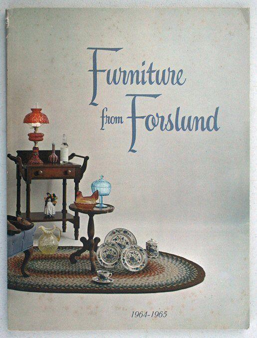 1964   1965 Catalog   Furniture From Forslund, Grand Rapids, Michigan