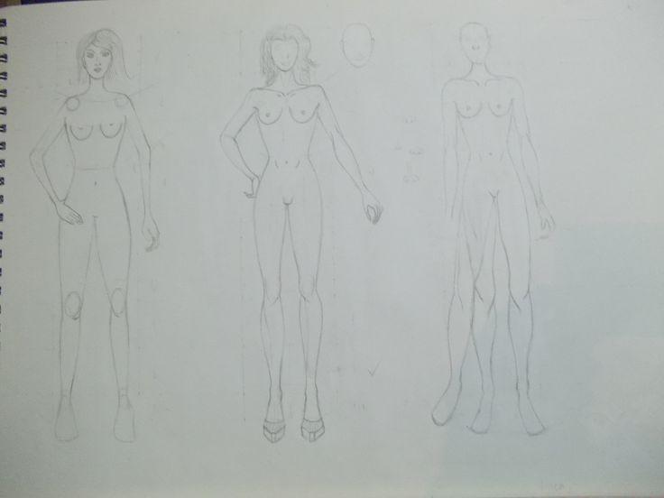 Primer boceto figura humana