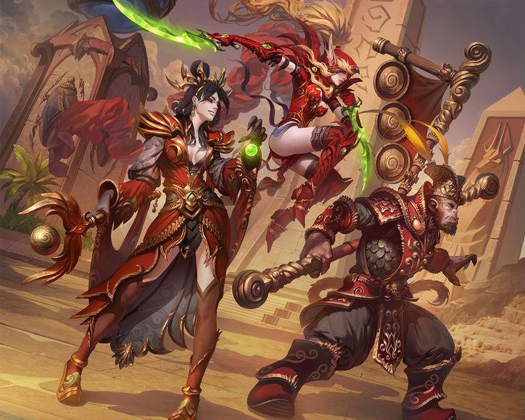 Los medios más recientes para Heroes of the Storm con héroes, campos de batalla y aspectos de juego