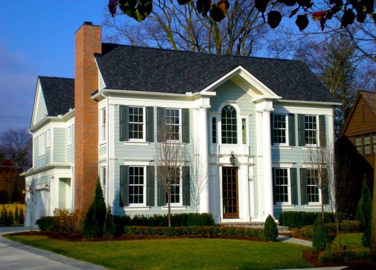 Custom Home Portfolio: | Birmingham, MI - Colonial Revival