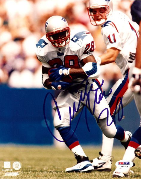 This is an 8x10 Photo that has been hand signed by Curtis Martin. It has been authenticated by PSA/DNA and comes with their sticker and matching certificate of authenticity.
