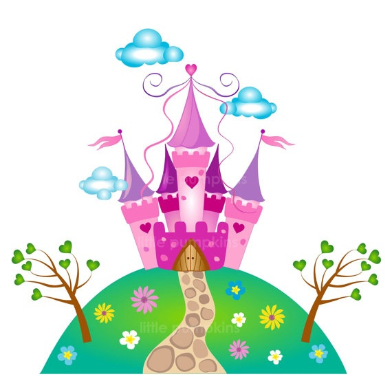 PRINCESS Clip art for commercial and by LittlePumpkinsPix on Etsy, $5.00
