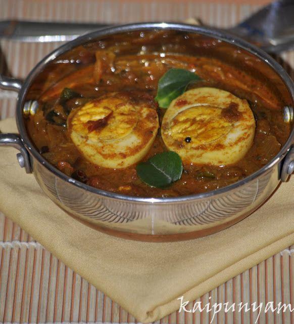 kaipunyam.com: Chettinad Egg Curry