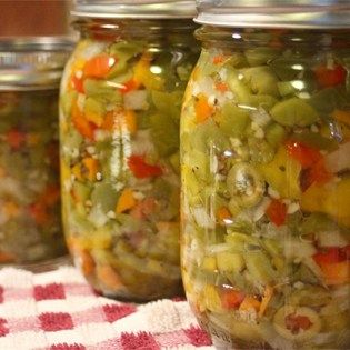 "Hot Italian Giardiniera I ""Wow is this stuff good! This is some of the best Giardiniera I have EVER had! It takes two days but boy is it worth the wait!"""