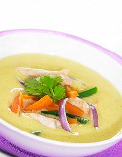 Indisk kyllingsuppe | www.greteroede.no | www.greteroede.no