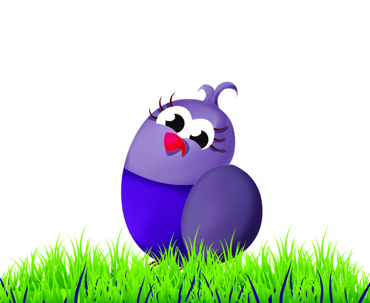 """Peanut the Baby Bird is featured in The Elle Grey Story, JUDGEMENT. Peanut was inspired by Avelle, Elle Grey's daughter. When Avelle was first born, she was so small and her tiny arms and legs took so long to """"unfurl,"""" that she resembled a newly hatched baby bird. Peanut is purple like the paint from Avelle's nursery. Peanut's name is Peanut, because when Elle was pregnant, the family referred to her round belly as """"Peanut."""""""