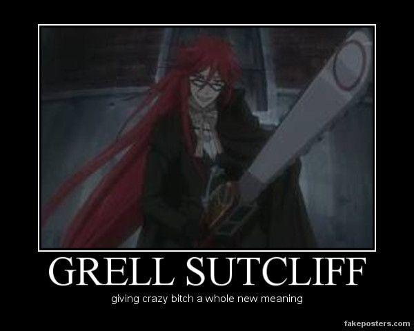 funny black butler | TeamPeeta649 Black Butler - Grell Sutcliffe