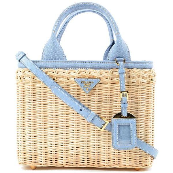Prada Bags ($995) ❤ liked on Polyvore featuring bags, handbags, prada handbags, bamboo bag, prada purses, bamboo handbags i prada