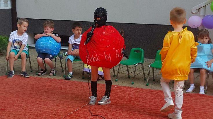 Mars planet costume