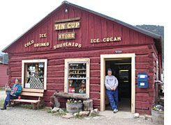 Tin Cup, Colorado - Tin Cup is an unincorporated community in Gunnison County. It was once a prominent mining town. Tincup is now a community of summer homes with a few year-round residents. Many historic buildings are still in use.