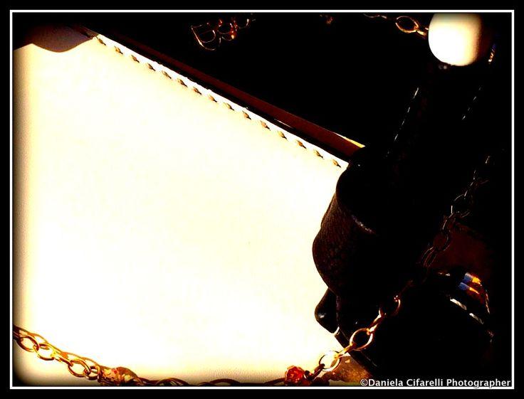 Black and white tote bag - A detail - ©Daniela Cifarelli ph - for BB Company