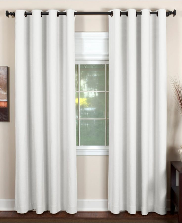 Elrene Essex Grommet Window Treatment Collection