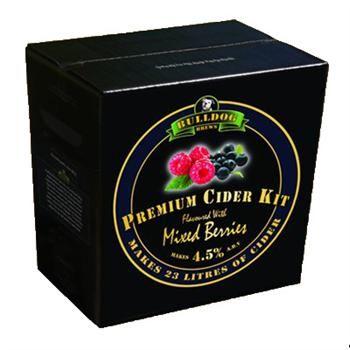 Bulldog Brews | Mixed Berries Premium Cider Kit - Homebrew supplies online.