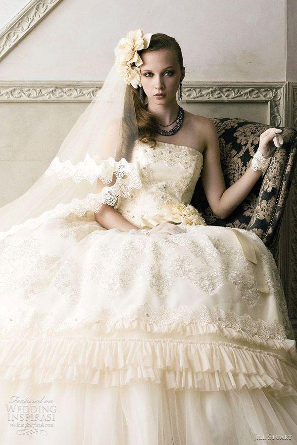 Jill Stuart Wedding Dresses 2017 The Seventh Collection