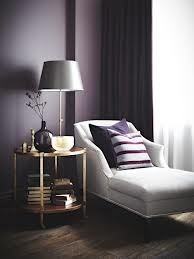 dark purple accent wall