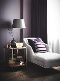 dark purple accent wall