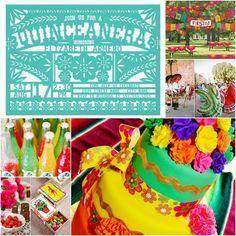 mexican themed quinceanera | Fiesta Sweet Fifteen Theme