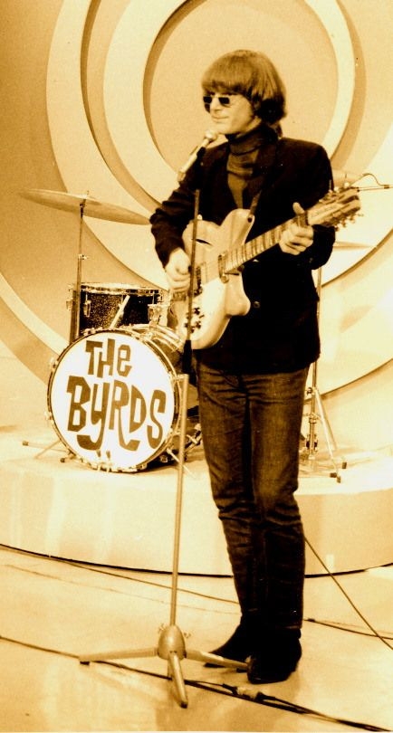 Roger McGuinn - frontman singer-songwriter and guitarist for great folk / country rock band, the Byrds.