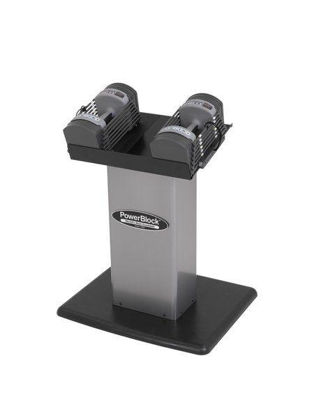 Support colonne pour Haltères réglables PowerBlock 2.4 et 5.0