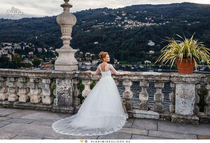 Κλείστε το ραντεβού σας για πρόβα νυφικού στο τηλ. 2310 256787! #wedding #dress #papilio #swanprincess #collection #2016