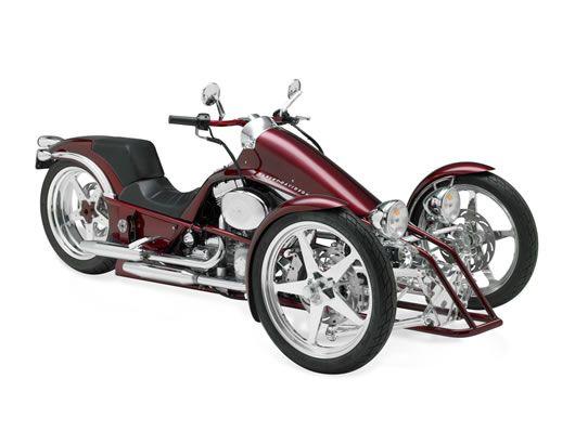 Harley Davidson Tilting Three Wheeler.