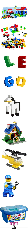 LEGO Bricks & More - Cubo gigante (6166)  ✿ Lego - el surtido más amplio ✿ ▬► Ver oferta: https://comprar.io/goto/B000HHJXG8