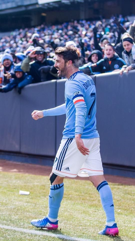 See you tomorrow at the Yankee Stadium... ⚽️7️⃣ New York City FC [David Villa Sánchez Facebook]!!!