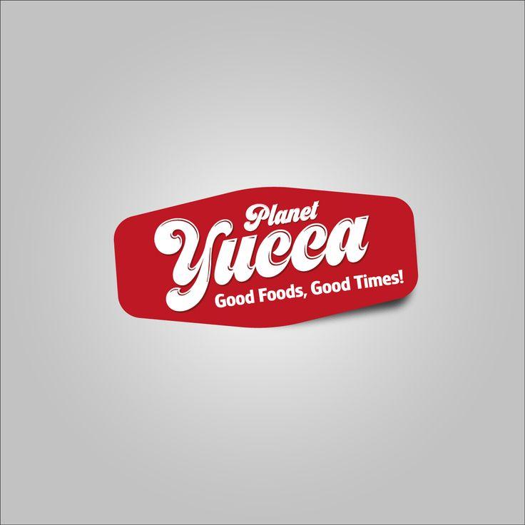 Planet Yucca Restaurant. Logo Desing...