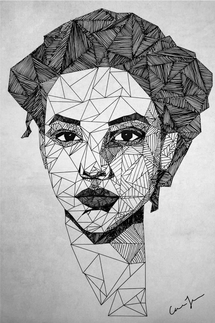 Caroline Johansson.com/blog/wp-content/uploads/2011/10/triangle-portrait-hand-drawn-illustration-art1.jpg